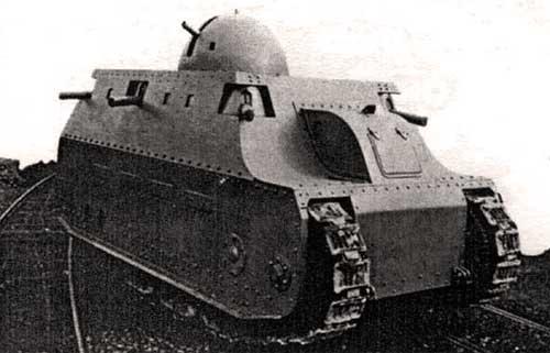 Иальянский танк FIAT 2000