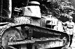 Танк Рено FT17