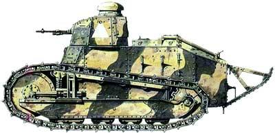 """Танк """"Рено"""" FT-17"""