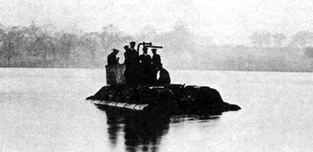 Английский опытный плавающий танк Мk. IX