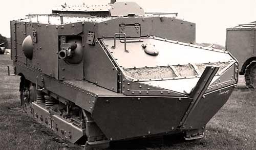 """Французский танк """"Шнейдер"""", 1916 год"""