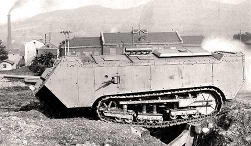 Танк Первой мировой