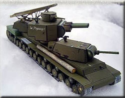 "Танк КВ-5 ""Бегемот"""
