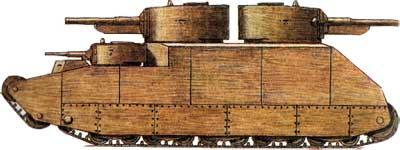 Танк Т-39-1
