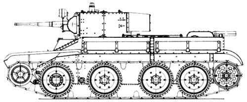 Танк БТ-5-ИС