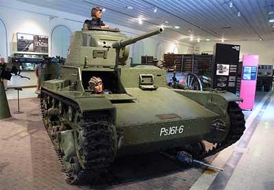 Танк Vickers
