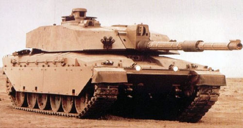 "танков ""Челленджер""."