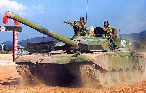 Основной боевой танк type 99 ztz 99