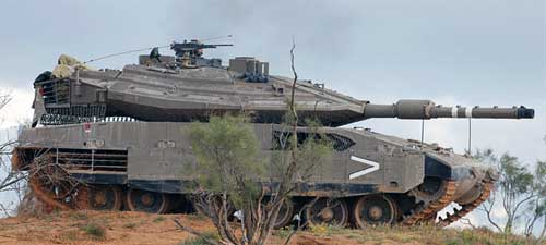 Merkava Mk.4 Main Battle Tank