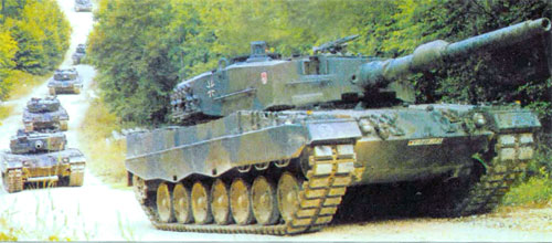 Основной боевой танк леопард 2