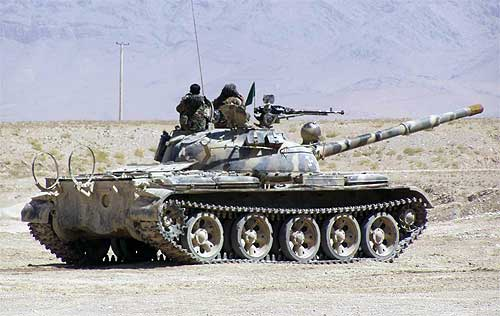 Танк Т-62 имеет