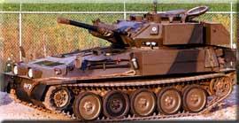 Легкий разведывательный танк fv101