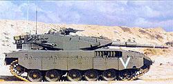 Израильский основной боевой танк «Меркава»