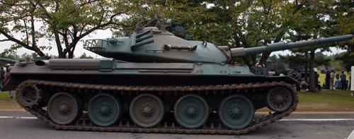 Основной боевой танк тип 74