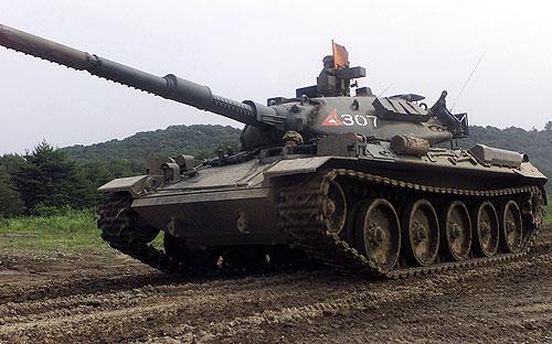Тип 74 разработан фирмой «Мицубиси» в 1962—1973 годах и принят на вооружение в 1975 году