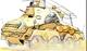 Боевое применение тяжелых бронеавтомобилей