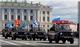 Первая совместная тренировка парада в Санкт–Петербурге